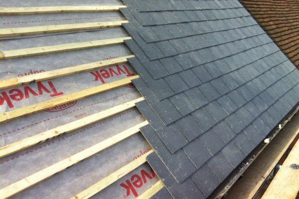 Beaconsfield New Slate Roof